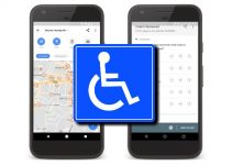 google maps indica luoghi accessibili